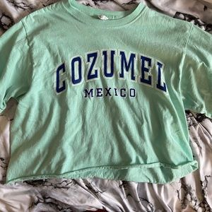 ❤️Mexico cropped tee